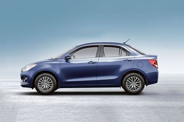 Suzuki Dzire 2019 side view