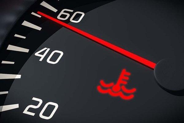 temperature gauge car