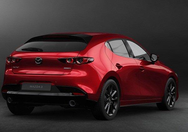 Mazda 3 2020 sportback rear end
