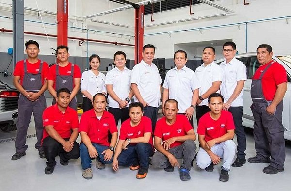 Porsche Philippines service center