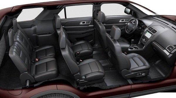 2019 Ford Explorer passenger seat