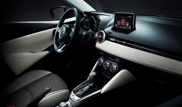 2019 Mazda 2 dashboard