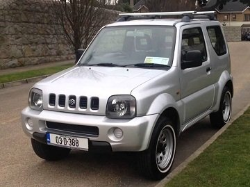 Suzuki Jimny is comfortable for off-road
