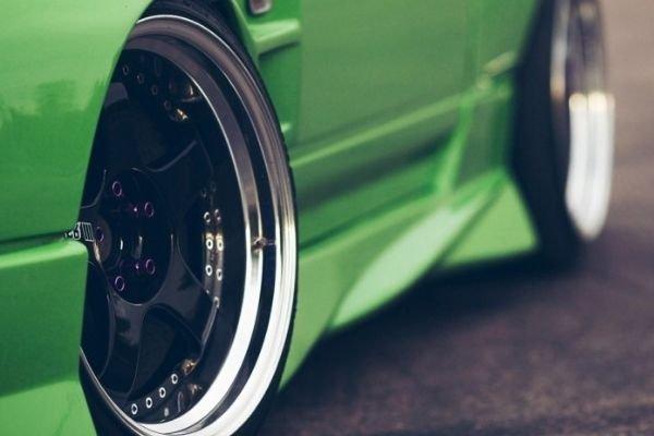 Lightweight alloy wheels