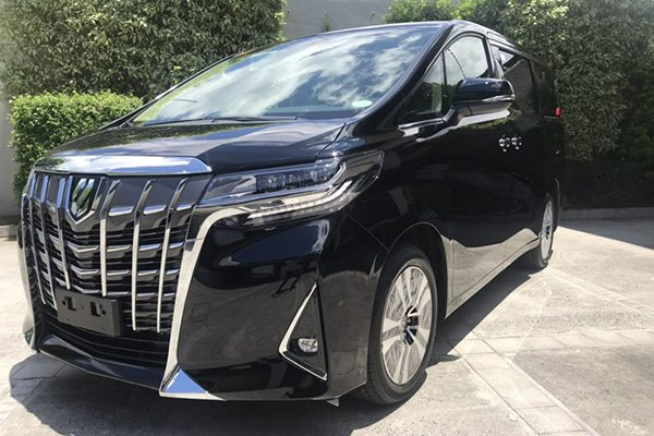 Toyota Alphard 2020 front view