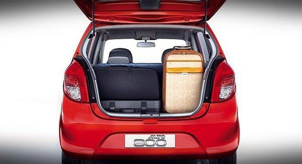 Suzuki Alto 2019 trunk