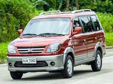 The Mitsubishi Adventure looks slightly outdated yet decent