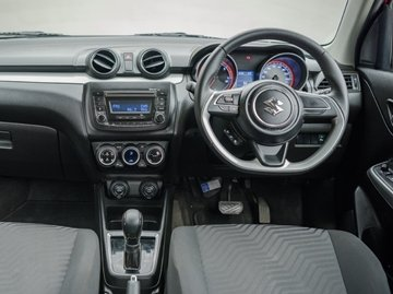 Swift is equipped with all the bells and whistles one would expect from a modern car