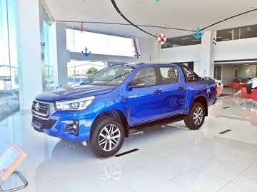 The Toyota Hilux is one of the least expensive pickup trucks you can buy today