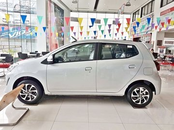 The new Toyota Wigo provides high visibility thanks to big windows all around