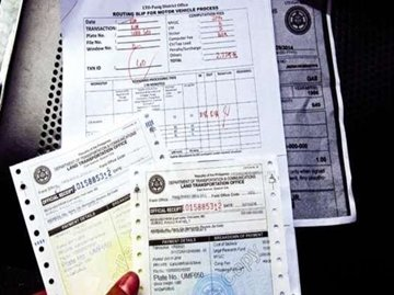 essential documents when buying a second hand car in the Philippines