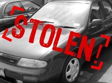 a stolen car