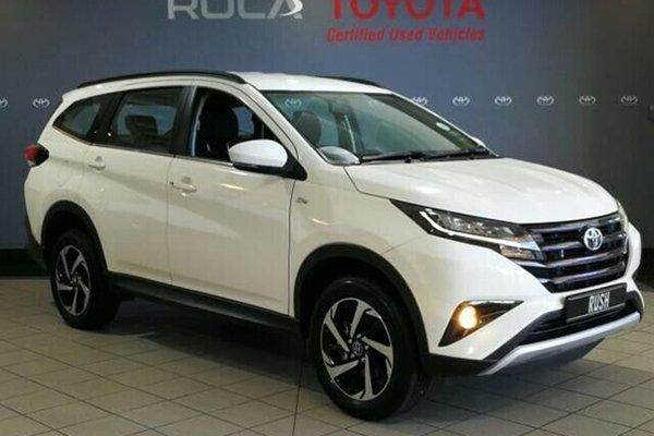 The 2019 Toyota Rush in white