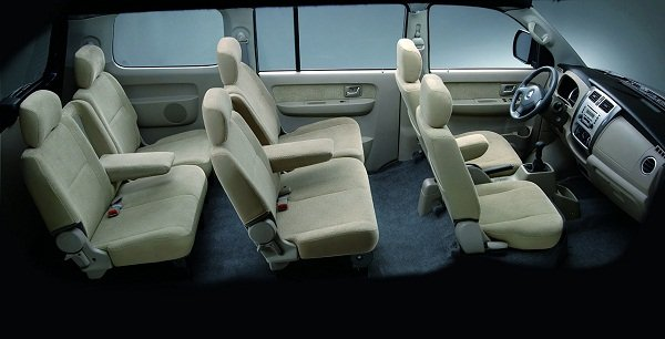 2019 Suzuki APV Interior Space
