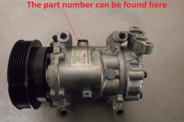 part number of a car part