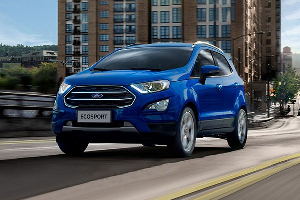 A picture of the Ford Ecosport 2019