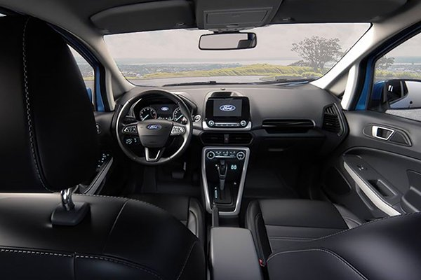A picture of the Ford Ecosport 2019 front cabin
