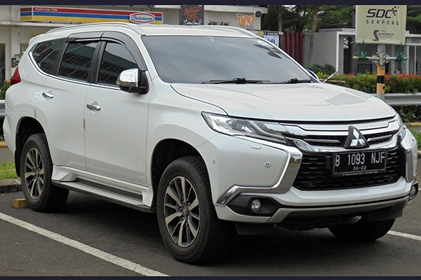A picture of the 2019 Mitsubishi Montero Sport
