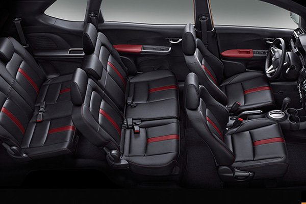 A picture of the 2019 Honda BR-V passenger seats