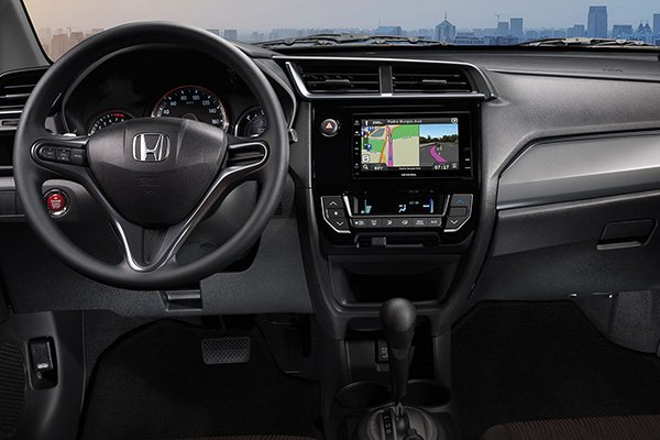 A picture of the 2019 Honda Mobilio's front cabin
