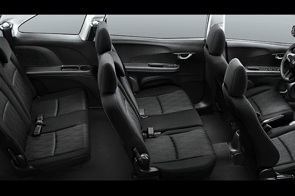 A picture of the 2019 Honda Mobilio's passenger seats