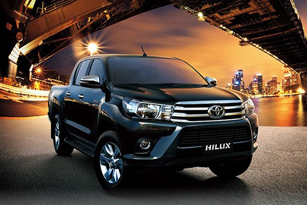 A picture of the 2019 Toyota HIlux