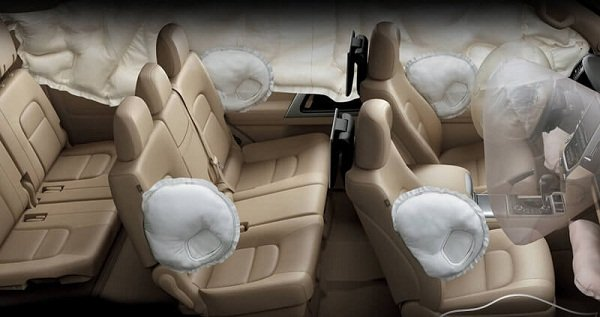 2019 Toyota land cruiser airbag