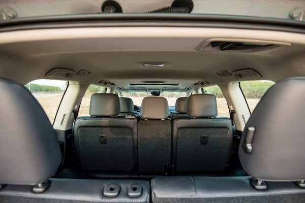 A picture of the 2019 Toyota Land Cruiser third row seat