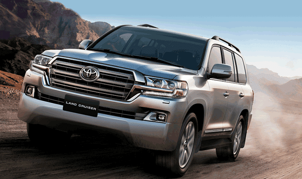 2019 Toyota Land Cruiser LC200