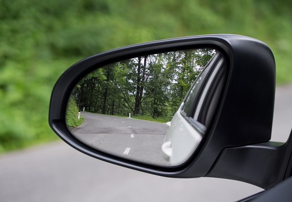 car rear mirror