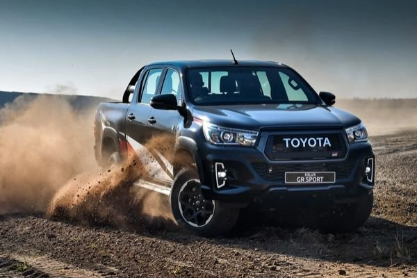 Toyota Hilux driving experience