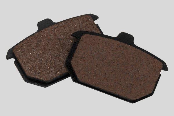 Organic brake pads