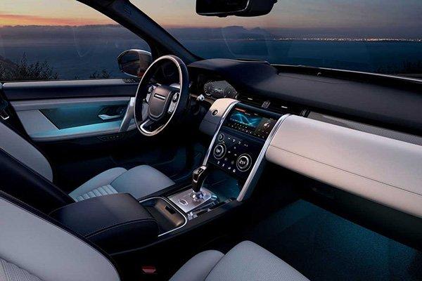 2020 Land Rover Defender's interior