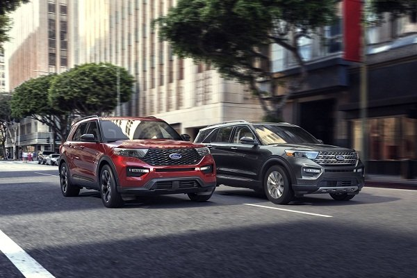 Ford Explorer 2020 the look