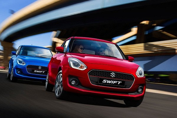 2020 Suzuki Swift driving experience