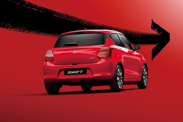 2020 Suzuki Swift rear view
