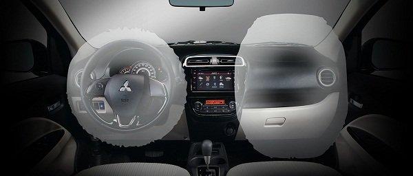 Mitsubishi Mirage g4 airbag