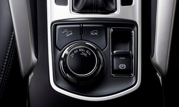 Mitsubishi Strada Super Select II System