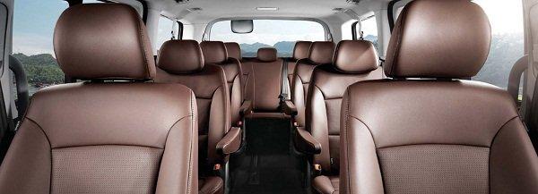 2020 Hyundai Grand Starex passenger seat