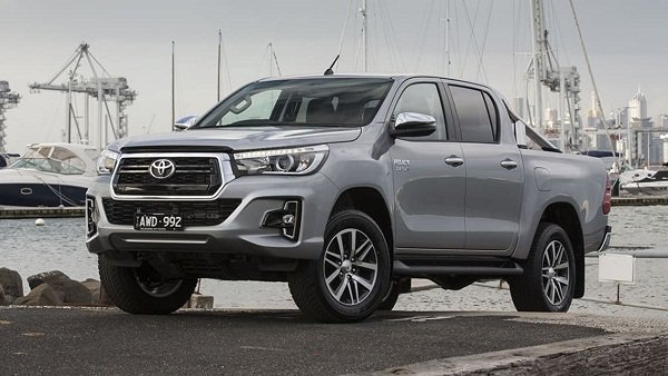 A picture of the 2020 Toyota HIlux