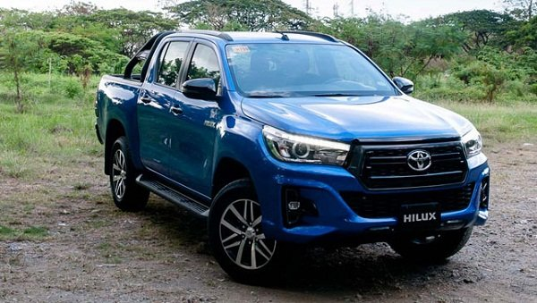 A picture of the 2019 Toyota Hilux Conquest
