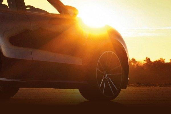 Car under the sun