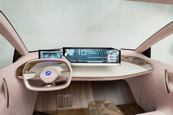 BMW iNext 2021 interior