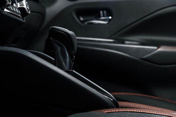 A picture of the 2020 Nissan Almera's interior
