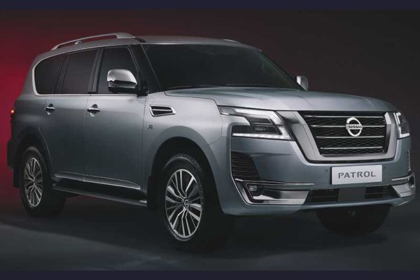 A picture of the 2020 NIssan patrol