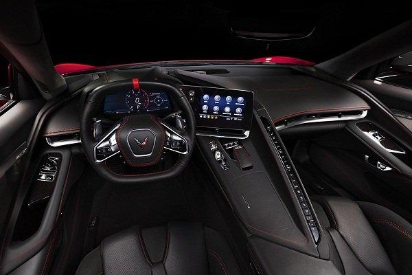 A picture of the 2020 Chevrolet Corvette's interior