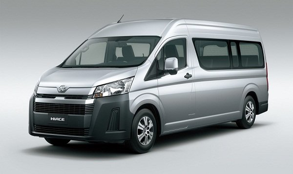 2020 Toyota Hiace front view