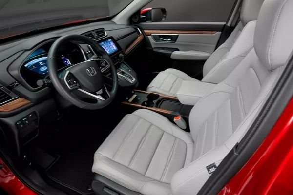 A picture of the 2020 Honda CR-V's interior