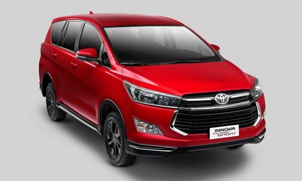 A picture of the Toyota Innova