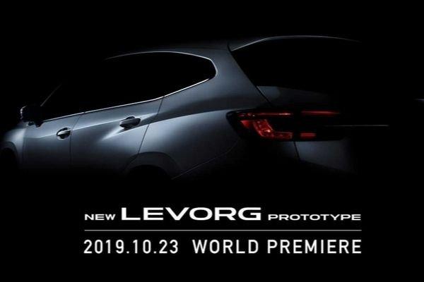 Subaru Levorg 2020 rear look